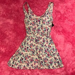 NWT Purple Floral Dress (Size S)